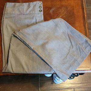 A. Byer Grey Wide Leg Pants - Size 11